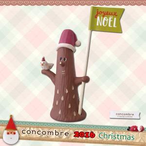 (2016 CHRISTMAS by decole)ZXS-48143/デコレ concombre 2016年CHRISTMAS スティックマスコット(やさしい木)の画像