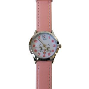 MKN008-5/【Field work/フィールドワーク】ディズニーフェイスアート腕時計(マリー/ピンク)/Disney/バンド/リスト/Watch/ファッション noahs-ark