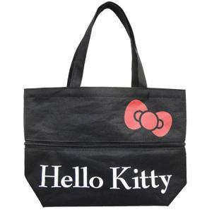 【セール/旅】33694414(畑山商事)伸びるミニトートバッグ[Hello Kitty/ハローキティ]/エコ/サブ/マザー/ショッピング/BAG/サンリオ|noahs-ark