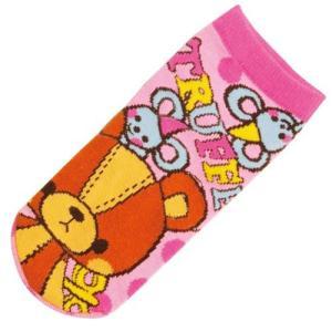 選べる3P¥1,110対象商品/キャラクターソックス(くつした女性用22〜24cm) 「カミオ(トリュフ)」 ZZS152/靴下/おしゃれ/ファッション noahs-ark