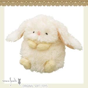 103953/モンスイユ/[オリジナルぬいぐるみ]ロレッタ(アイボリー)/うさぎ/ウサギ/アニマル/動物/玩具/TOY/おもちゃ/ギフト/プレゼント|noahs-ark