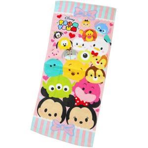 選べる3P¥1,110対象商品/フェイスタオル CMFT-01 Disney ディズニー ツムツム tsumtsum リボン キャラクター コットン 綿 洗面所 洗顔 手洗い 汗|noahs-ark