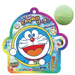 選べる3P¥1,110対象商品/OB-DOB-5-01/【ドラえもん】ひっかけよう♪とおりぬけフープ!!バスボール(フレッシュなスイートレモンの香り)|noahs-ark