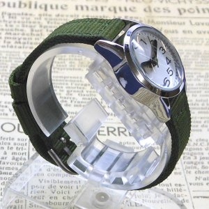 【DM便発送可】ASS110-4/【Fild work/フィールドワーク】腕時計 ファッションウォッチ(プチナ/カーキ)/バンド/リスト/Watch/ファッション/ハンド/トケイ noahs-ark