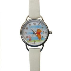 MKN011-1/【Field work/フィールドワーク】腕時計「ディズニー手書き風」(プー/ホワイト)/Disney/バンド/リスト/Watch/ファッション/ハンド noahs-ark