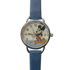 MKN011-3/【Field work/フィールドワーク】腕時計「ディズニー手書き風」(ミッキー/ブルー)/Disney/バンド/リスト/Watch/ファッション/ハンド noahs-ark