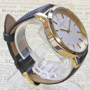 【DM便発送可】QKS136-6/【Fild work/フィールドワーク】腕時計 ファッションウォッチ「エルー」(ブラック)/バンド/リスト/Watch/ファッション/ハンド noahs-ark