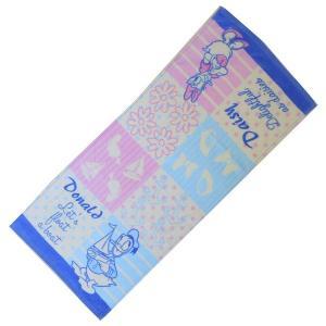 選べる3P¥1,110対象商品/FTL-43/パティズ/【Disney】キャラクターフェイスタオル(ドナルド&デイジー)/キャラクター/綿/スポーツ洗顔/手洗い/外出/携帯|noahs-ark