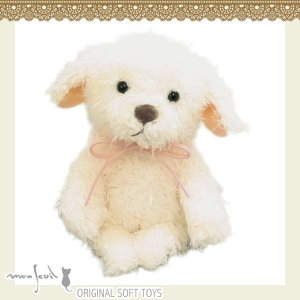 104110/モンスイユ/[オリジナルぬいぐるみ]ホワン(ホワイト)/いぬ/犬/DOG/動物/玩具/TOY/おもちゃ|noahs-ark