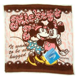 選べる3P¥555対象商品/Disneyハンドタオル 「ミッキー&ミニー/ディズニー」K-8423A/ウォッシュ/手拭き/ハンカチ/おしぼり/レジャー noahs-ark