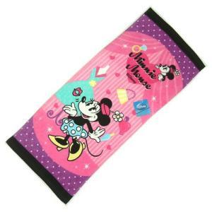 選べる3P¥1,110対象商品/Disneyフェイスタオル 「ミニー/ディズニー」53921/スポーツ/プール/水遊び/手ぬぐい/レジャー/|noahs-ark