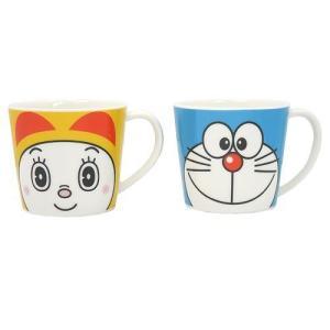 ドラえもん&ドラミちゃん ペアマグカップ2個セット 「フェイス」 9750 noahs-ark