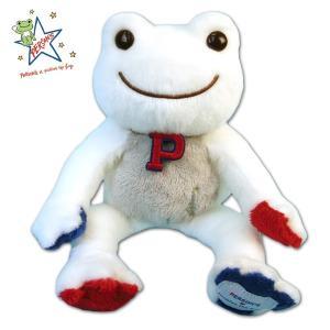 ピクルス × PERSON'S ビーンドール 139047-19 限定 ぬいぐるみ H16xW12xD15cm かえる カエル フロッグ frog 玩具 toy 子供|noahs-ark