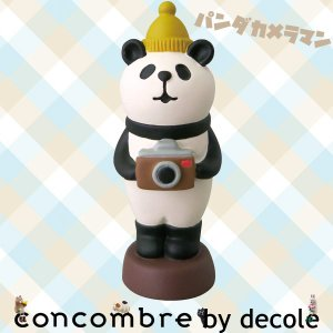 【2016 seasonal collection by decole】/ZCB-48292/DECOLE デコレ concombre コンコンブル パンダカメラマン|noahs-ark