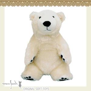 104011/モンスイユ/[オリジナルぬいぐるみ]ポーム(Sサイズ)/白くま/白熊/アニマル/動物/玩具/TOY/おもちゃ/ギフト/プレゼント|noahs-ark