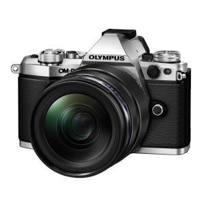 OLYMPUS OM-D E-M5 Mark II 12-40mm F2.8 レンズキット [シルバ...