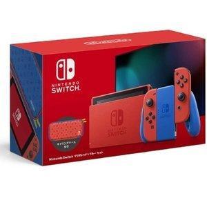 新品 Nintendo Switch マリオレッド×ブルー セット 任天堂 スイッチ HAD-S-R...