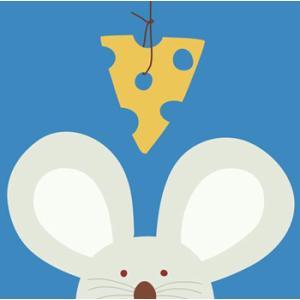 セール30%オフ 輸入雑貨 壁飾り 壁掛け ネズミ マウス チーズ 油絵風 カントリースタイル noainterior