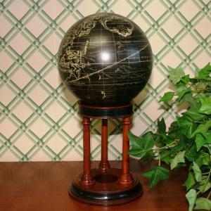 輸入雑貨 地球儀 グローブ globe フランスの地図 クラッシック|noainterior