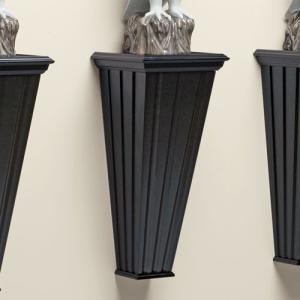 <<セール50%オフ>>輸入雑貨 ウォールシェルフ 壁飾り 壁掛け 棚 黒 noainterior
