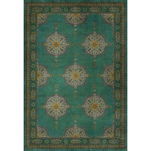 エリアラグ ペルシャ絨毯風 タブリーズ模様 オリエンタル調 塩化ビニール製 178x259cm|noainterior