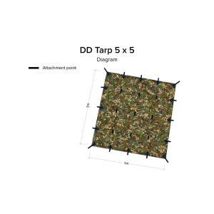 DD Tarp 5x5 MC|noasobi-ya