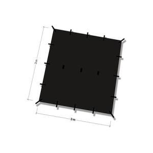 DDタープ Tarp 3x3 (ブラック)|noasobi-ya|02