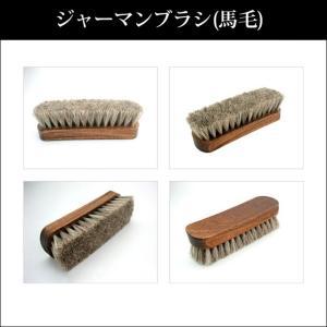 馬毛使用の靴用ブラシ!ジャーマンブラシ2(馬毛)|noble-collection