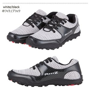 ゴルフシューズ  スパイクレス メンズ ニットシューズ アドリアズ 靴 AdriaZ 撥水 幅広 3E noblegolf 05