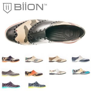 スパイクレス ゴルフシューズ Biion バイオン 靴 雨 PATTERNS メンズ レディース オシャレなゴルフシューズ |noblegolf