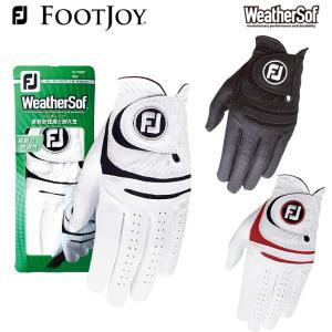 フットジョイ ウェザーソフ  FJ ゴルフグローブ FGWF15 手袋 日本正規品 メーカー取り寄せ品 noblegolf