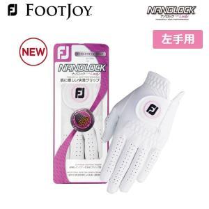 フットジョイ レディース  ナノロック ゴルフ グローブ 左手用 FootJoy FGWN17 メーカー取り寄せ品 手袋 noblegolf