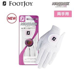 フットジョイ レディース  ナノロック ゴルフグローブ 両手用 FootJoy FGWN17 メーカー取り寄せ品 noblegolf