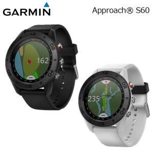 ガーミン アプローチ S60 スタンダードモデル GPSナビ ゴルフウォッチ ゴルフナビ GARMIN Approach S60 White/Black メーカー取り寄せ|noblegolf