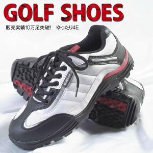 ゴルフ シューズ メンズ ゴルフシューズ EL-01 幅広 4E 広田ゴルフ メーカー取り寄せ品|noblegolf