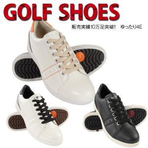 ゴルフ シューズ メンズ ゴルフシューズ MG015 ぼよよ〜んソール 健康 楽々歩行 広田ゴルフ メーカー取り寄せ品|noblegolf
