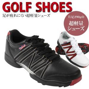 ゴルフ シューズ メンズ ゴルフシューズ 幅広 3E 広田ゴルフ MG-021 メーカー取り寄せ品 軽量 ソフトスパイク noblegolf