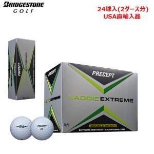 ゴルフボール ブリヂストンゴルフ 日本未発売 BRIDGESTONE GOLF プリセプト ラディ エクストリーム 24球入 USA直輸入品 ソフト|noblegolf