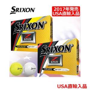 USAモデル ダンロップ スリクソン SRIXON 2017 Z-STAR5 ボール 1ダース  USA直輸入品 メーカー取り寄せ|noblegolf