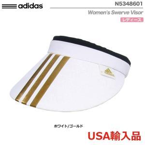 USAモデル adidas アディダス レディース バイザー N5348601 USA直輸入品 メーカー取り寄せ サンバイザー|noblegolf