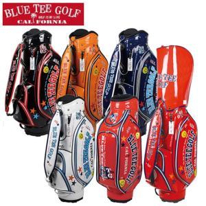 キャディバッグ エナメルバッグ ブルーティーゴルフ ゴルフカートバッグ 5分割 9インチ BTG-CB005|noblegolf