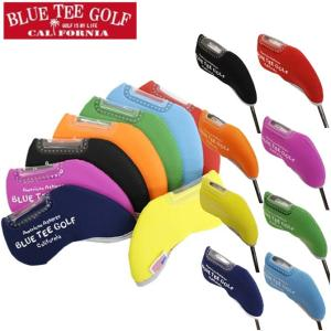 ゴルフ ストレッチ アイアンカバー ブルーティーゴルフ 8色セット 各1個入り 窓付き マジックテープ IC-002|noblegolf