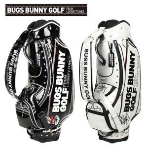ワーナーブラザーズ ルーニーチューンズ バッグスバニーゴルフ キャディバッグ 9型 LTCM-001 カートバッグ ゴルフバッグ|noblegolf