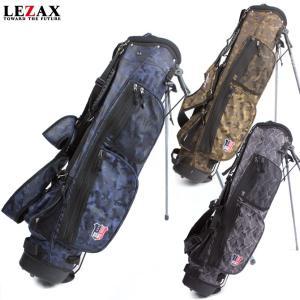 キャディバッグ スタンドバッグ カモフラ 軽量1.9kg ゴルフ 6.5インチ 軽量 USCB-8257 48インチ対応|noblegolf