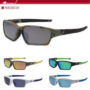 ニューバランス スポーツサングラス new balance  NB08039 ゴルフ 野球 ランニング ジョギング マラソン|noblegolf