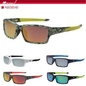 ニューバランス スポーツサングラス new balance  NB08040 ゴルフ 野球 ランニング ジョギング マラソン|noblegolf
