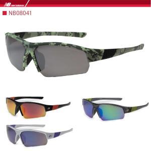 ニューバランス スポーツサングラス new balance  NB08041 ゴルフ 野球 ランニング ジョギング マラソン|noblegolf