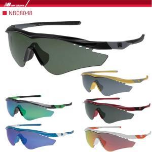ニューバランス スポーツサングラス new balance  NB08048 ゴルフ 野球 ランニング ジョギング マラソン|noblegolf