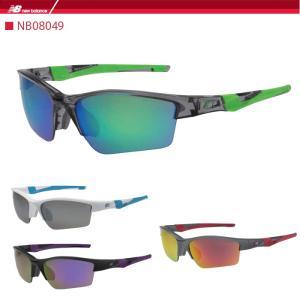 ニューバランス スポーツサングラス new balance  NB08049 ゴルフ 野球 ランニング ジョギング マラソン|noblegolf