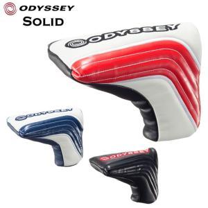 ゴルフ オデッセイ パターカバー ピン型 ODYSSEY ソリッド ブレード SOLID BLADE|noblegolf